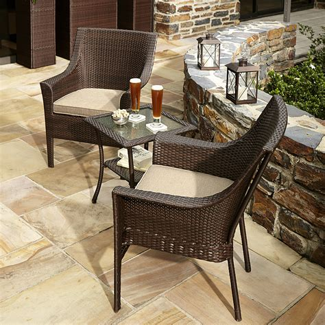 ty pennington style parkside 3 bistro set outdoor