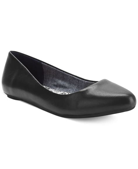 dr scholls shoes flats dr scholls really flats in black lyst