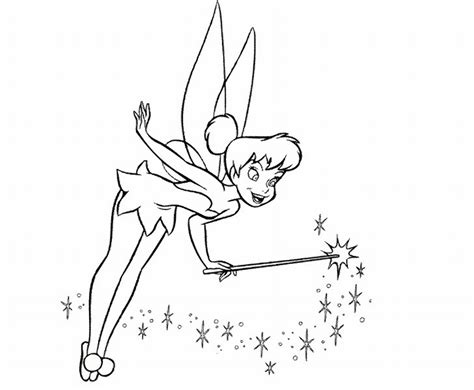 coloring pages tinkerbell free anime