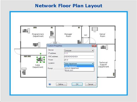 network floor plan network floor plan custom properties