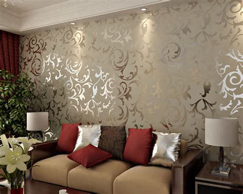 40 living room decorating ideas damask wallpaper damasks and adesivo papel de parede floral 3d damask vintage embossed