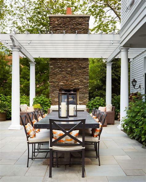 outdoor dining areas quick and cheap ways to add charm to outdoor dining areas