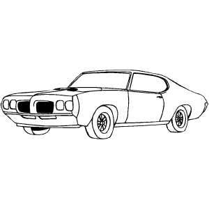 coloring pages with cars and trucks chevy chevelle coloring page