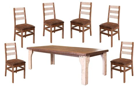 white rustic dining table set white wash rustic dining table set rustic dining table set