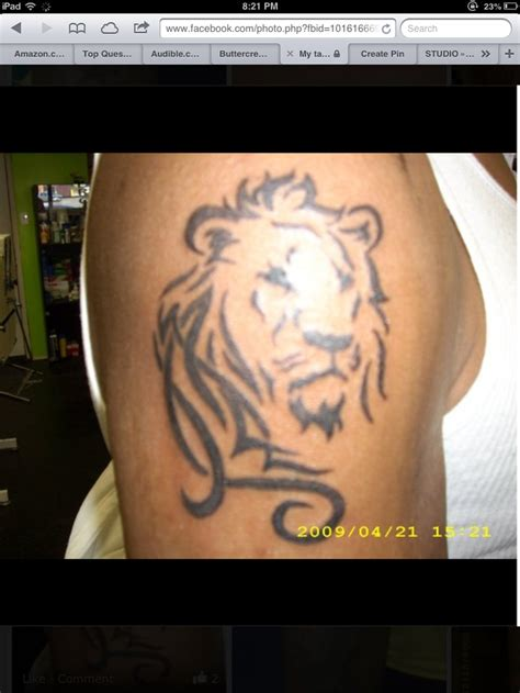 aslan tattoo possibly an aslan tattoos this