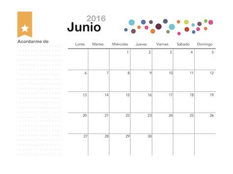 Calendario Mes De Junio 2015 Im 225 Genes De Calendarios Mes De Junio 2016 Para Descargar E