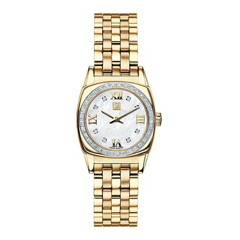 movado esq by womens hshire goldtone bracelet in