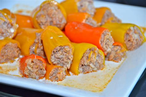 stuffed mini peppers delights of culinaria