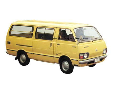 1977 Toyota Hiace Toyota Hiace I 1977 Careos