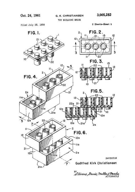 beautiful examples  patent drawingsplans