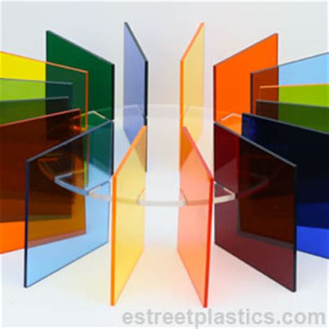 colored transparent sheets plexiglass acrylic and other plastics precut sheets or