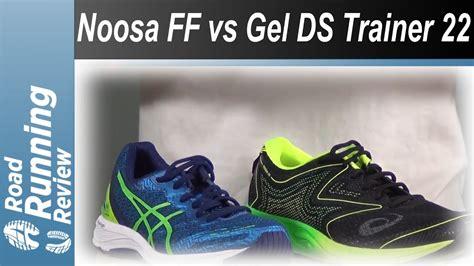 Sepatu Asics Noosa Ff asics noosa ff vs asics gel ds trainer 22