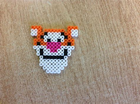mini perler mini tigger perler bead designs