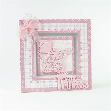 Paper Crafting Dies - royal baby carriage die tonic studios from craftyarts co