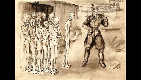 imagenes impactantes del holocausto judio 161 impactante el horror de las prisiones nazi pintada por