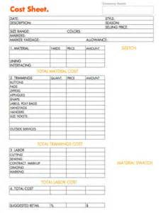 how to business planning worksheet cost sheet for