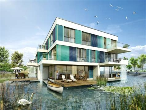 Houses Water by Isrw Klapdor Gmbh Waterhouses Hamburg