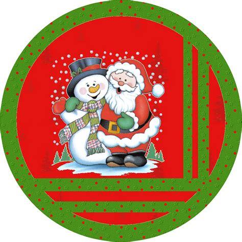 topper cake natal santa and snowman free printable bar labels oh
