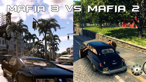 Schnellstes Auto La Noire by Mafia 3 Vs Mafia 2 Comparison Youtube