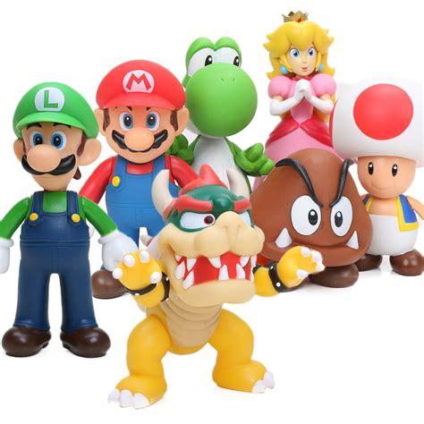 Gã Nstige Stehlen Shop by 8 Mario Figuren 15 Cm Bowser Yoshi Mario