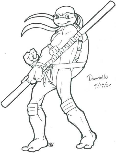 ninja turtle coloring page donatello tmnt donatello coloring pages allmadecine weddings an