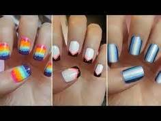 easy nail art with two colours pinterest the world s catalog of ideas