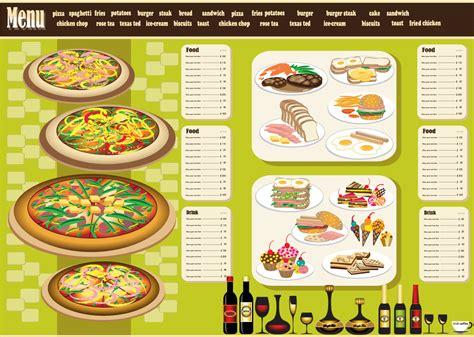 design menu in coreldraw free vector がらくた素材庫 レストラン メニュー デザイン テンプレート restaurant