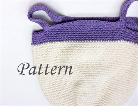pattern for market tote bag market bag crochet pattern book bag crocheted tote pdf