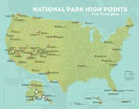 us national parks list map 17 best ideas about us national parks map on
