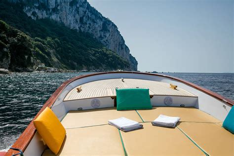 bagni tiberio bagni tiberio boats on the pristine coastline of