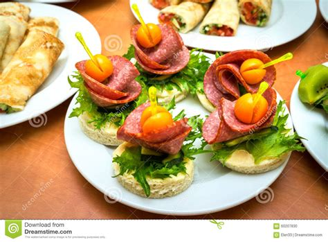 canape stock canapes stock photo image 60207830
