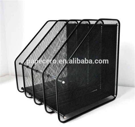 wire mesh desk organizer office desk organizer 4 tier metal mesh magazine file