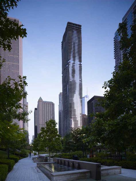Contemporary Architecture Characteristics Aqua Tower Chicago Skyscraper E Architect