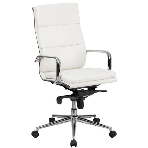 Flash Furniture High Back White Leather Executive Swivel Flash Furniture High Back Executive Office Chair