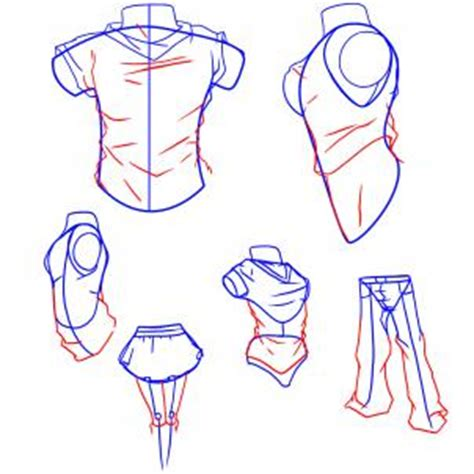 one t draw how to draw anime clothes step by step anime