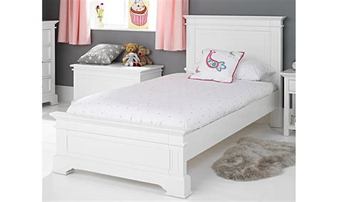 White Single Bunk Beds Grace White Single Bed