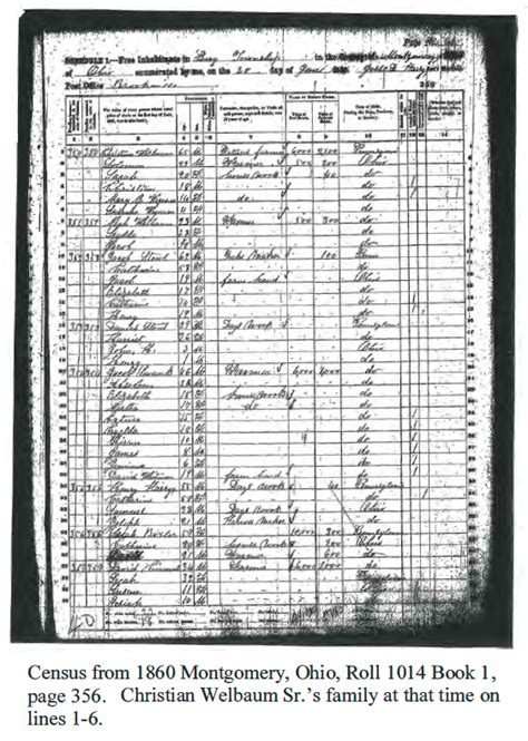 Brown County Ohio Marriage Records Brown Wellbaum Hilgeford Mcgilvery Family History