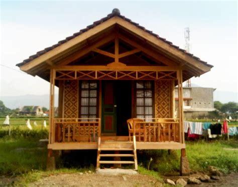 desain rumah bambu terbaru rumah desain rumah bambu