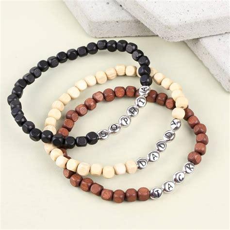 Handmade Bracelets With Names - beaded bracelets with names bangle bracelets