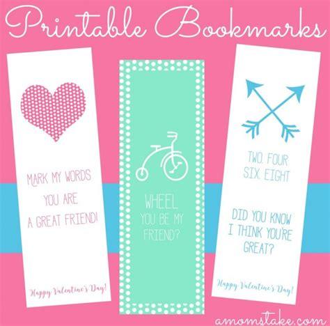 nice printable bookmarks 3 printable valentine s day bookmarks a mom s take