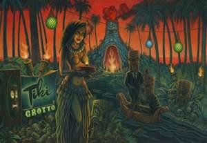 The Tiki Artofficial Tiki Tonight
