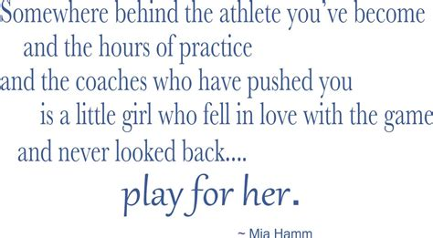 Life Size Athlete Wall Stickers mia hamm wall quote mia hamm quotes vinyl stickers