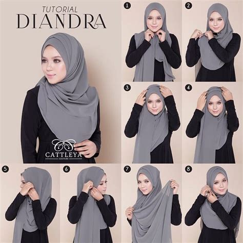 tutorial pashmina jaman sekarang 135 best images about hijab shawl styles remember to