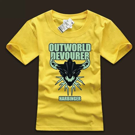 Outworld T Shirt Dota 2 outworld devourer design t shirt dota 2 computer