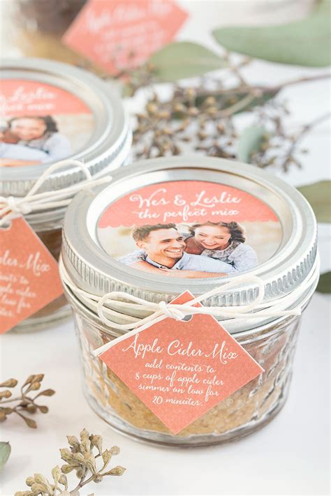 Wedding Favors For Fall by Seven Fall Wedding Favors