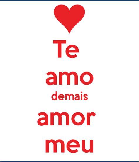Imagenes Te Amo Damaris   te amo demais amor meu poster luciana keep calm o matic