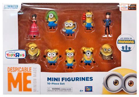 Set Figure Despicable Me 3 Minion Item Despicable Me Minions Minions Mini Figurines 10