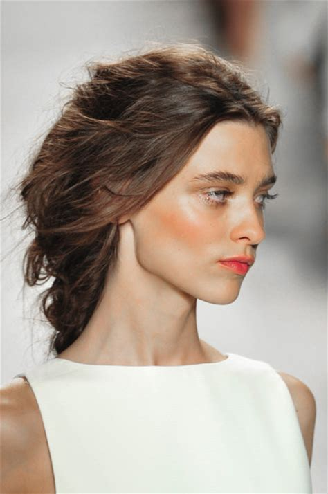 new york hairstyles 2014 spring 2014 hairstyles from new york fashion week