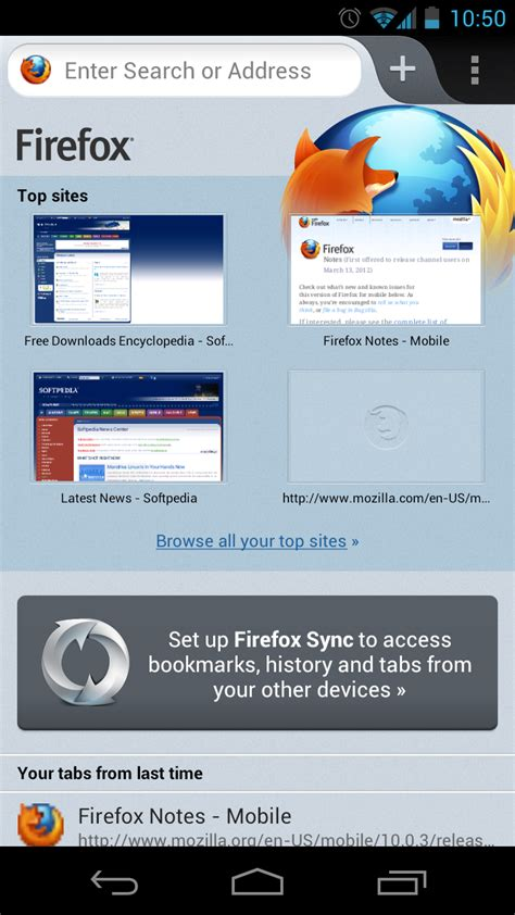 www firefox for android firefox for android beta gets detailed