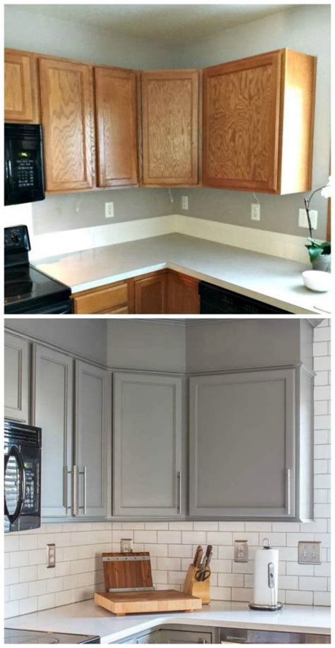 before after kitchen remodel pinterest painting 20 small kitchen renovations before and after diy